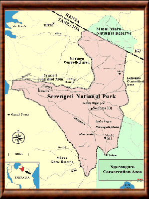 Serengeti carte