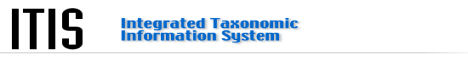 Integrated Taxonomic Information System (ITIS)