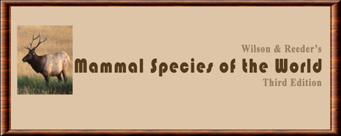 Mammal Species of the World (MSW)